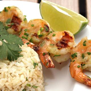Tequila-Glazed Grilled Shrimp