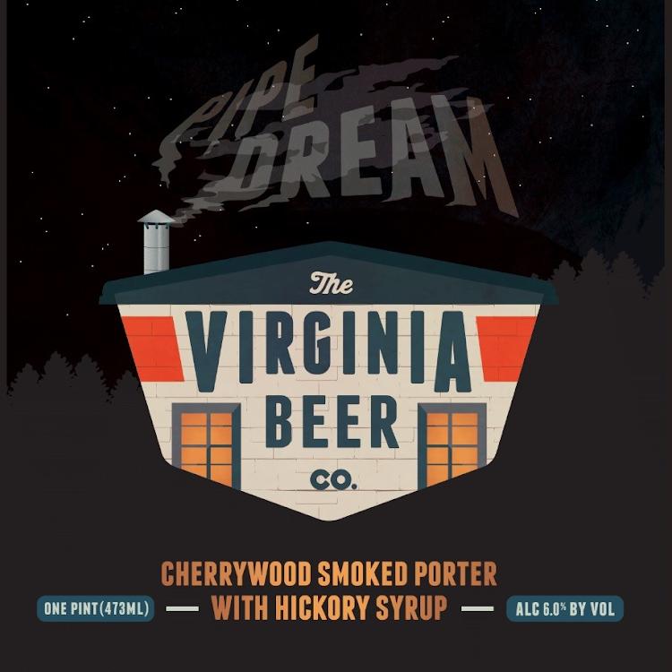Logo of Virginia Beer Co. Pipe Dream