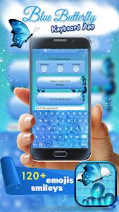 Blue Butterfly Keyboard App screenshot 2