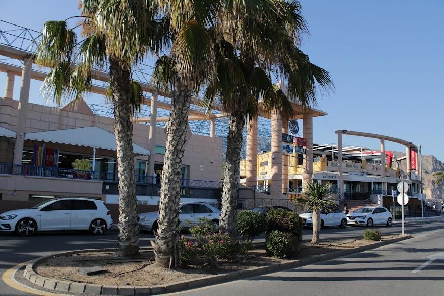 Zona de ocio del Centro 501 en Aguadulce, Roquetas de Mar.