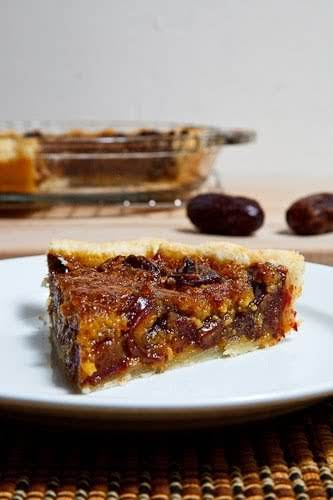"""Medjool Date Pecan Pie""""You just cannot go wrong when you start with..."""