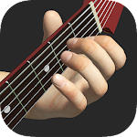 Basic Guitar Chords 3D Icon