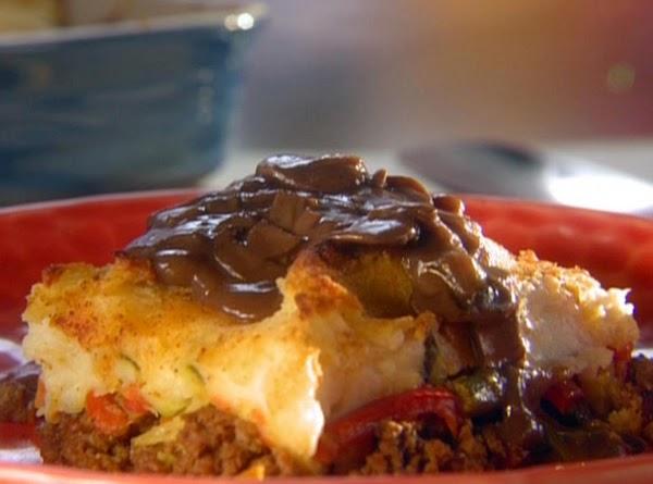 Shepherd's Pie With Mushroom Onion Gravy Recipe