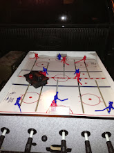 Photo: hockey table in the back of the hockey table in the back of the pickup