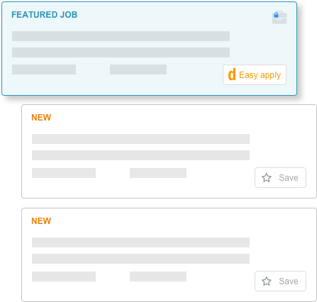 Featured Jobs get more views