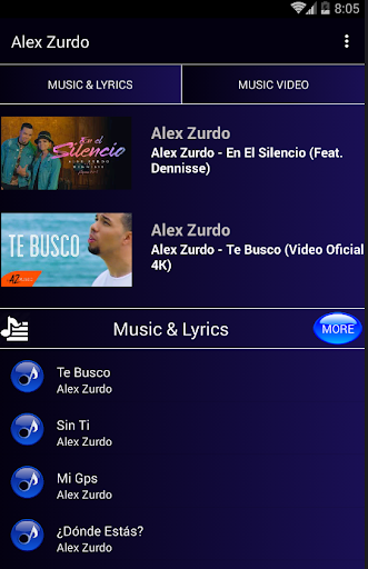 Musica de Alex Zurdo screenshots 1