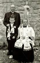 Photo: 1962 rok. Ks.Stanisław NOWAK , Bronisław BUKOWSKI. Dziecko NN.