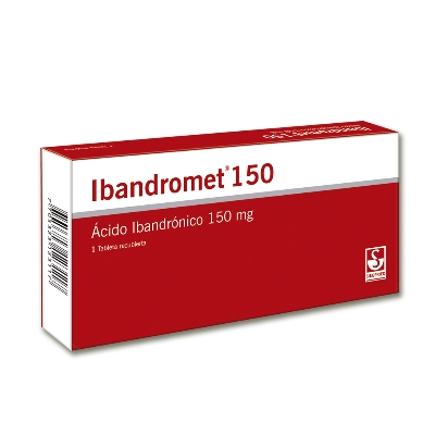 Acido Ibandronico Ibandromet 150 mg x 1 tabletas