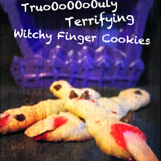 Witch Finger Halloween Cookies Recipe- Truly Terrifying Treats
