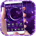 Purple Moon light Theme icon