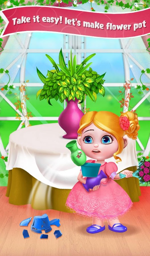 Princess Wedding Flower Girl- screenshot