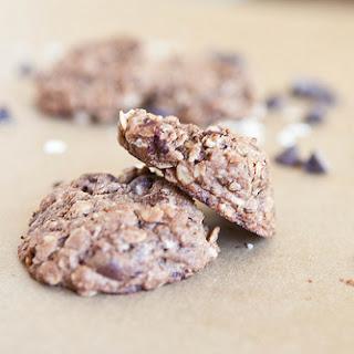 Chocolate Chocolate Chip Oatmeal Cookies