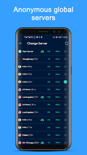 Free VPN Master - Fast Unlimited VPN Tunnel App screenshot 2
