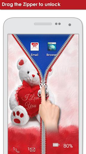 無料个人化Appのテディベアジッパーロック|記事Game