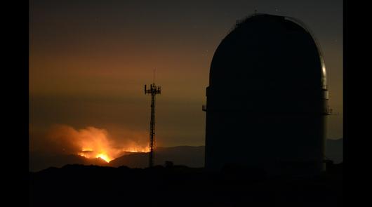 El incendio de Terque quema 1.200 hectáreas de 6 municipios