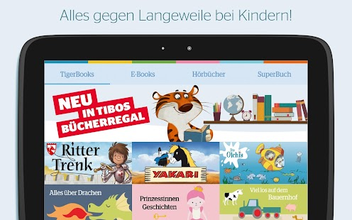TigerBooks Kinderbücher – Miniaturansicht des Screenshots