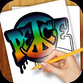 Learn to draw Graffiti Art