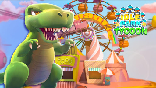 Idle Park Tycoon - Dinosaur Theme Park apkpoly screenshots 11