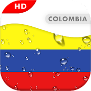 Colombia Flag 3D live wallpaper