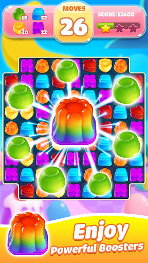 Jelly Jam Crush - Match 3 Games & Free Puzzle Game filehippodl screenshot 3