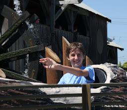 Photo: (Year 3) Day 25 - Edward on the Log Flume #4