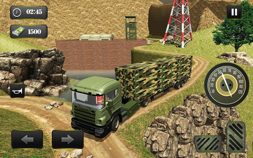 US OffRoad Army Truck driver 2020 screenshots 10