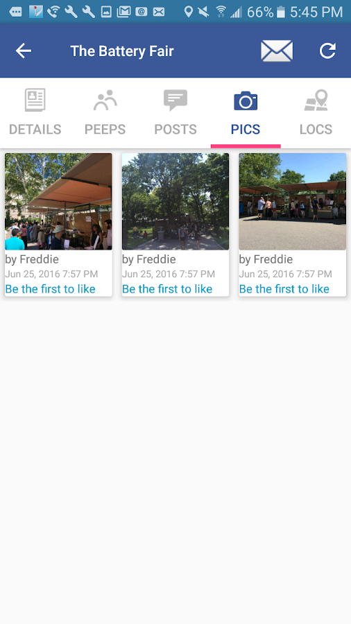 Voux - Meetup, Chat, Share Places- screenshot