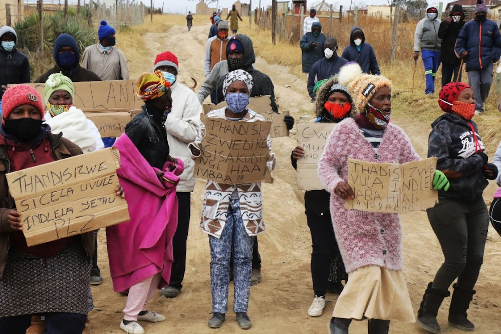Residents protest against AmaBhaca 'king' Diko amid tender scandal