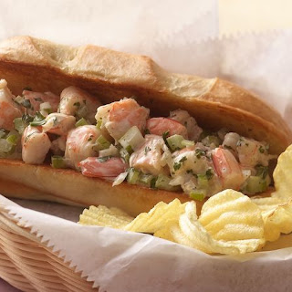 New England-Style Shrimp Rolls with Lemon-Herb Mayonnaise.