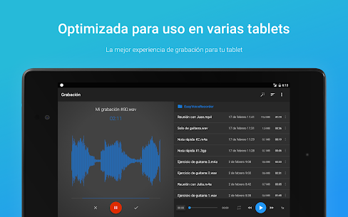 Grabadora de Voz Fácil Pro 9