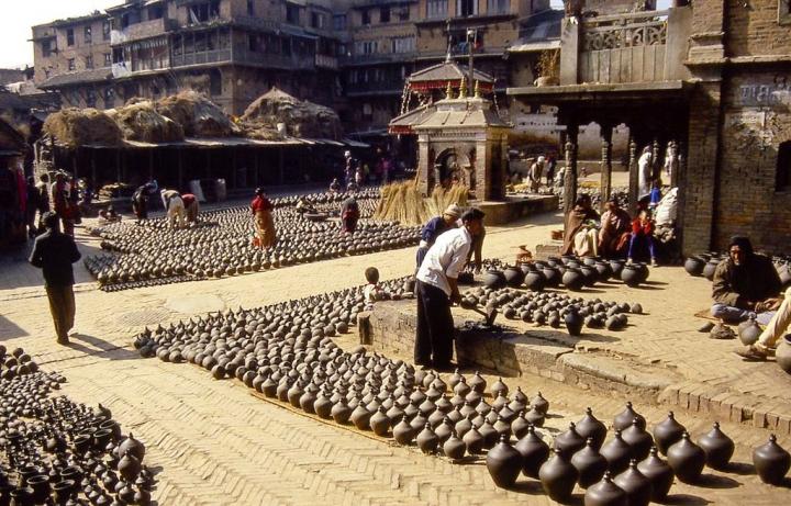 Bhaktapur Durbar Square di leorol