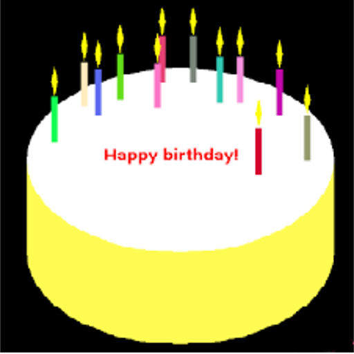 App Insights Candle For Your Birthday Cake Happy