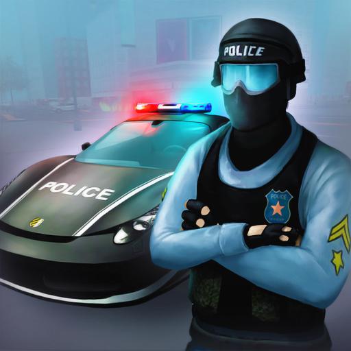 賽車遊戲App|警察スーパーカー犯罪ユニットの3D LOGO-3C達人阿輝的APP