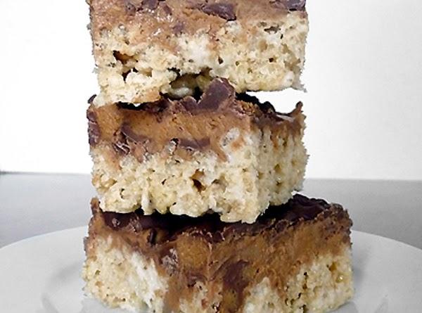 Peanut Butter Cup Rice Krispies Treats Recipe
