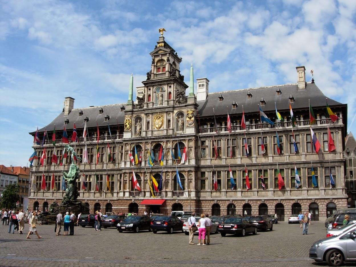 Hôtel de ville (Stadhuis) d'Anvers
