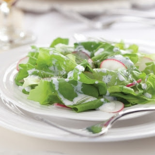Bibb and Radish Salad 