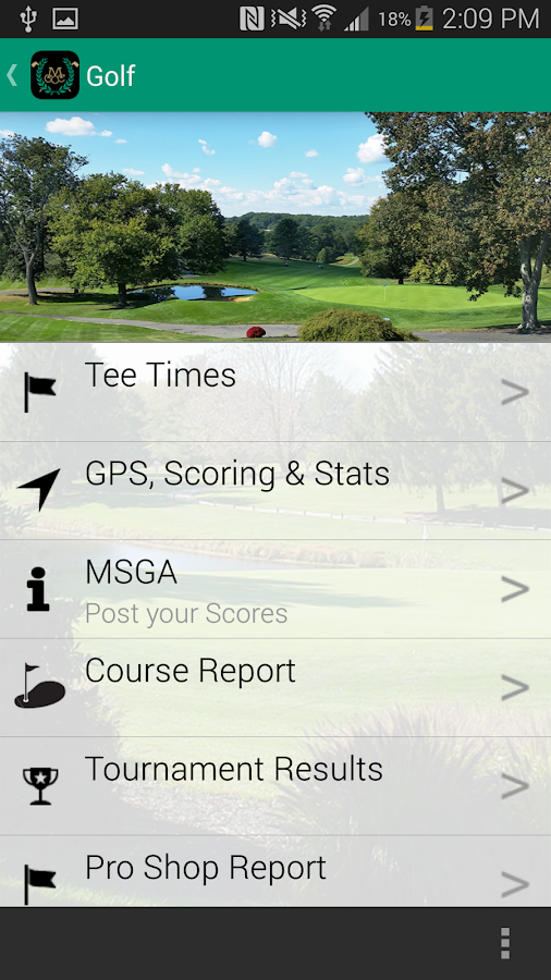 Maryland Golf and Country Club- screenshot