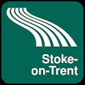 Stoke-on-Trent Map offline icon