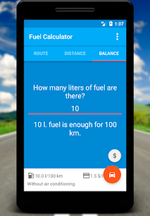 Fuel Calculator- screenshot thumbnail