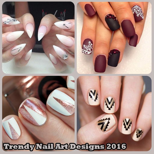Trendy nail art designs 2016 android apps on google play trendy nail art designs 2016 screenshot prinsesfo Image collections