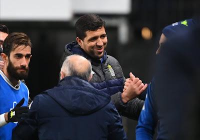 """Karim Belhocine est heureux: """"Ces trois points nous font du bien"""""""