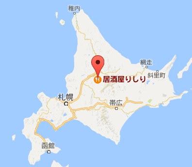 地図:居酒屋りしり