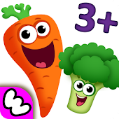 Tải FUNNY FOOD 2! Educational Games for Kids Toddlers! APK
