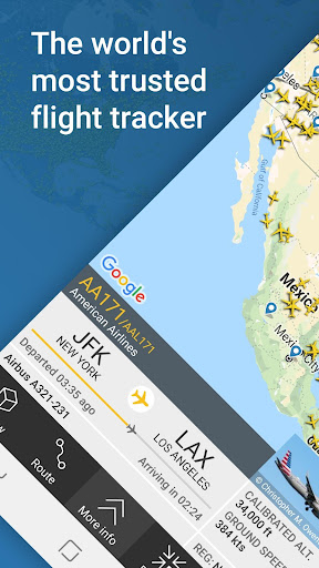 Flightradar24 Flight Tracker 8.9.0 screenshots 1