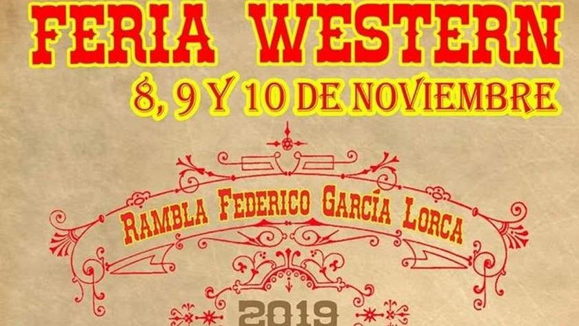 Cartel anunciador de la Feria Western.