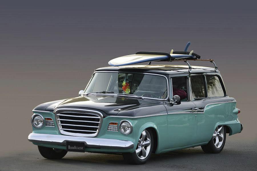 Studebaker Lark 2 Door Wagon Hire Hemet