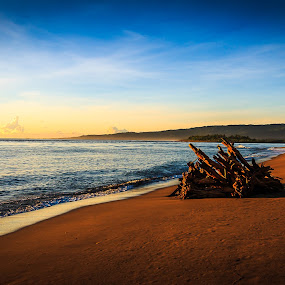 Sunrise at Cateel by Rene Timbang - Landscapes Sunsets & Sunrises ( #exploremindanao #sunrisesunset #seascape #landscape #canonphotography )