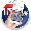New Zealand Flag Keyboard - Elegant Themes APK