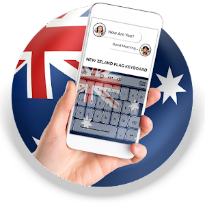 New Zealand Flag Keyboard - Elegant Themes APK Download for Android