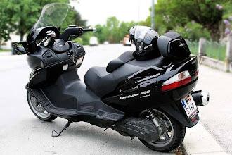 Photo: habe nun auch den passenden Helm in schwarz, Airoh SV55, Nachtrag: würde mir den Helm nicht mehr kaufen